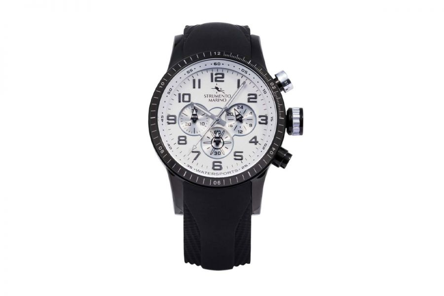 Strumento Marino SM132S-BK-BN-SL-NR Horloge Heren 46MM 10ATM