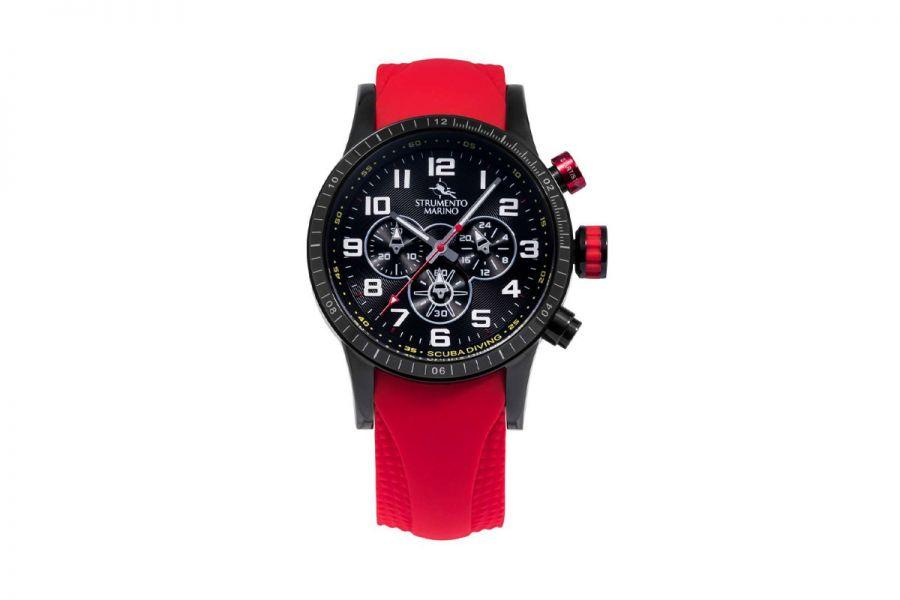 Strumento Marino SM132S-BK-NR-RS Horloge Heren 46MM 10ATM