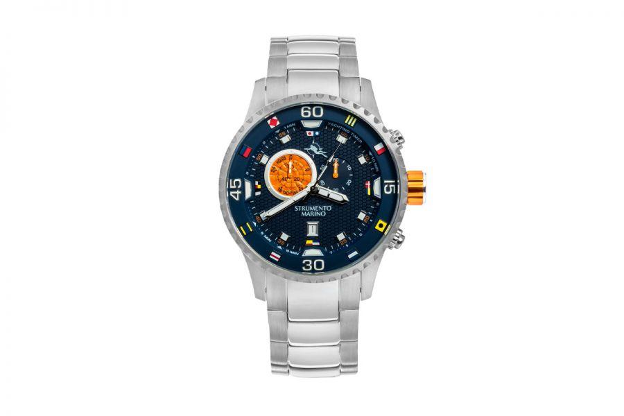 Strumento Marino SM133MB-SS-BL-AR Horloge Heren 47MM 10ATM