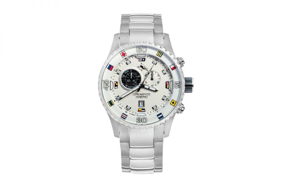 Strumento Marino SM133MB-SS-BN-NR Horloge Heren 47MM 10ATM