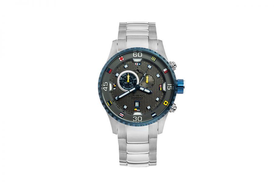 Strumento Marino SM133MB-SS-GR-BL Horloge Heren 47MM 10ATM