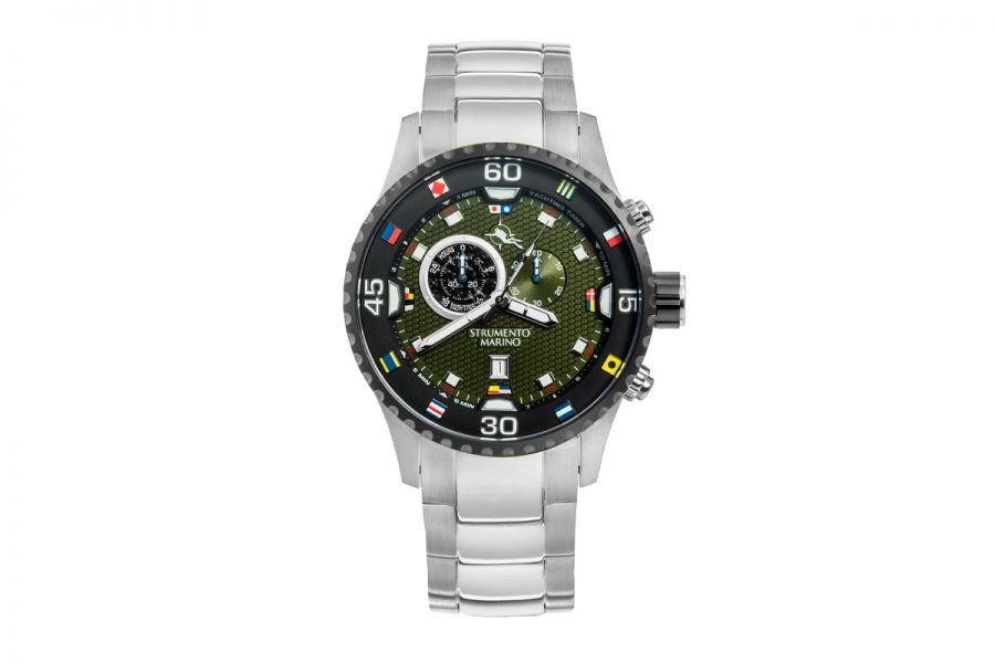 Strumento Marino SM133MB-SS-VR-NR Horloge Heren 47MM 10ATM