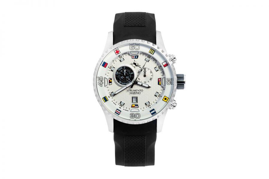 Strumento Marino SM133S-SS-BN-NR Horloge Heren 47MM 10ATM