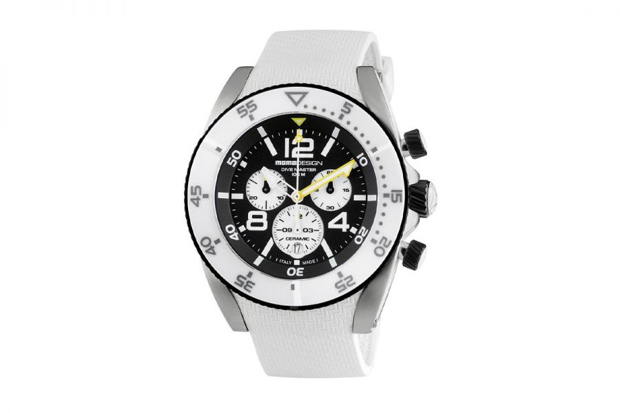 MOMO Design Dive Master MD1281WT-21 Horloge Heren 46 mm 10 ATM