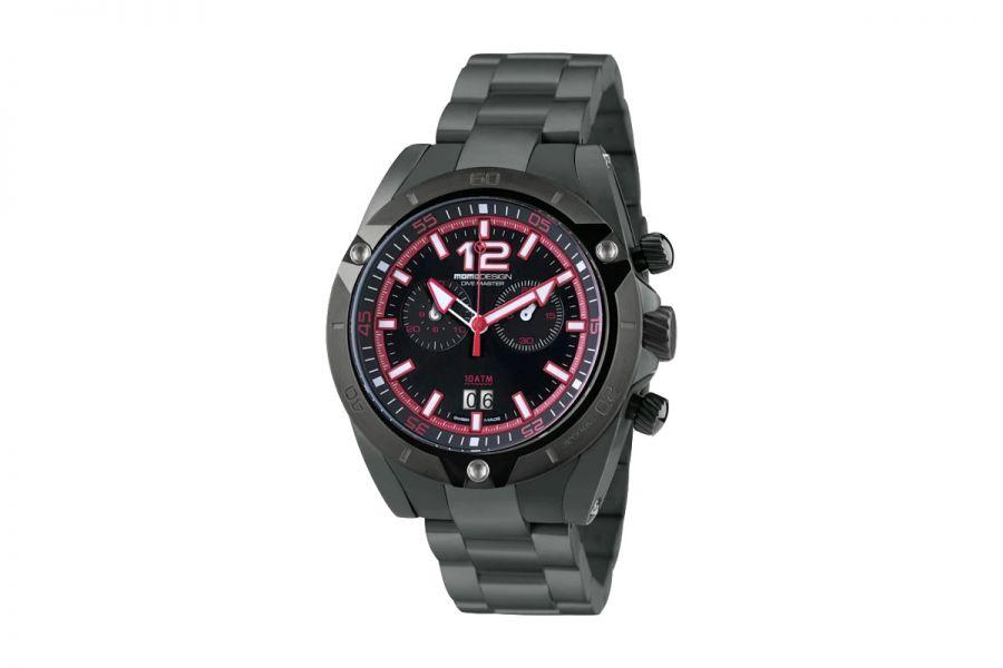 MOMO Design Dive Master MD282BK-40 Horloge Heren 46 mm 10 ATM