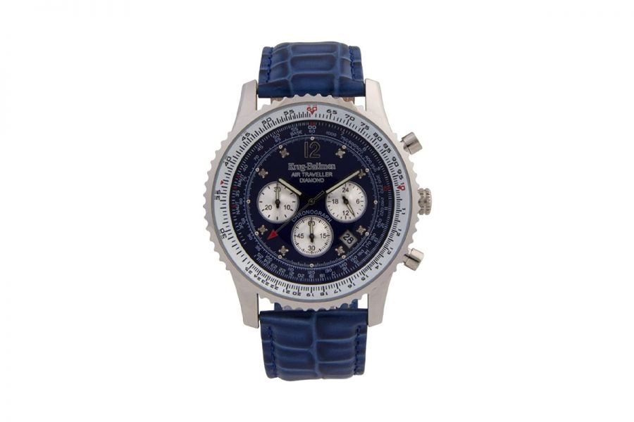 Krug Baumen Air Traveller Diamond Automatic | 600507DS