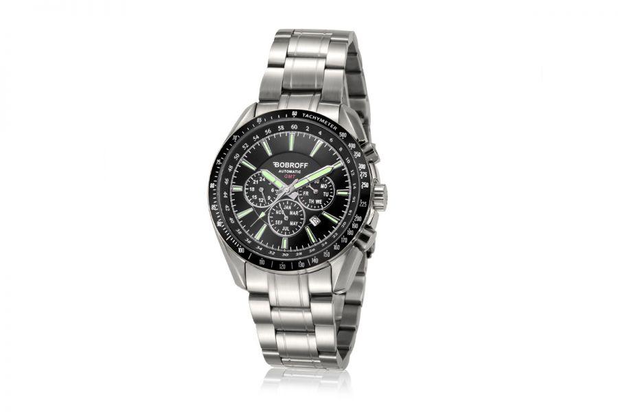Bobroff Heren Horloge BF0010V2 42mm 10 ATM