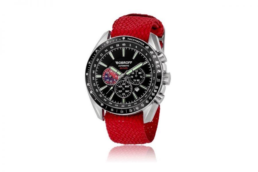 Bobroff Heren Horloge BF0011PR 42mm 10 ATM
