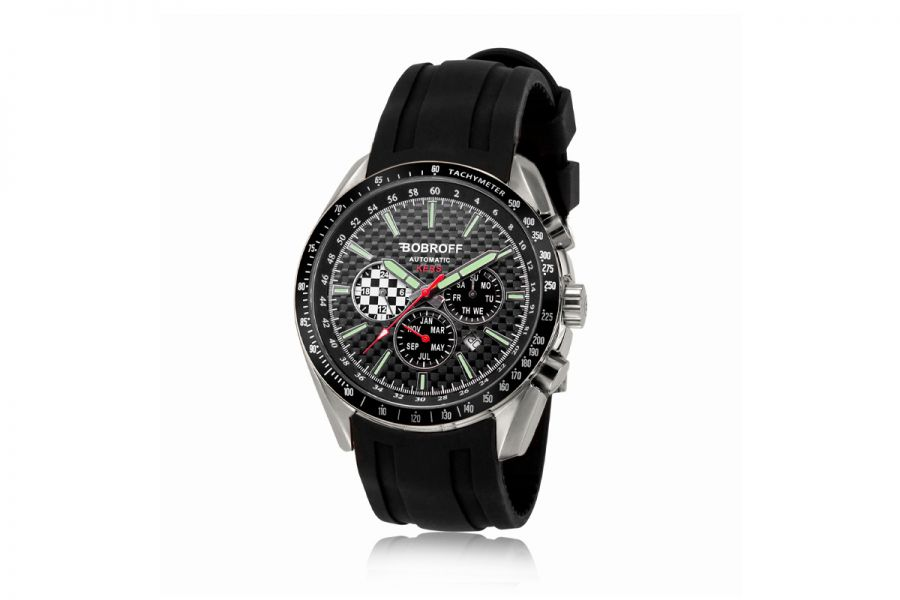 Bobroff Heren Horloge BF0012V2-S010 42mm 10 ATM