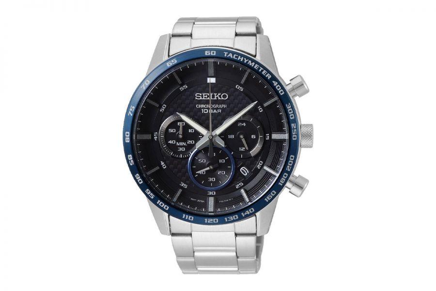 Seiko Quartz Chronograph Horloge Heren 45mm SSB357P1