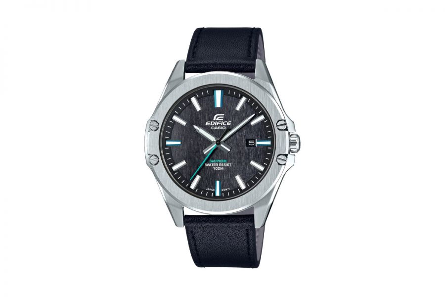 Casio Edifice EFR-S107L-1AVUEF Heren Horloge 43mm WR 200mt