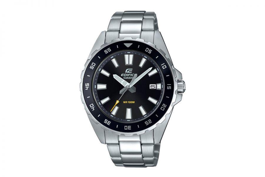Casio Edifice EFV-130D-1AVUEF Heren Horloge 47mm WR 100mt