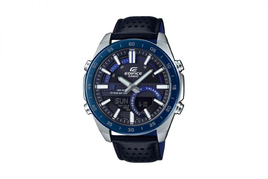 Casio Edifice ERA-120BL-2AVEF Heren Horloge 44mm WR 100mt