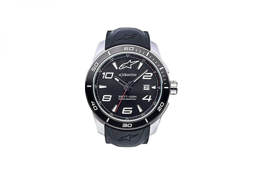 Horloge Alpinestars Tech Watch 3H Steel | 1036-96007