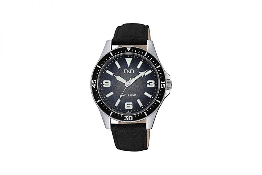 Q&Q Fashion QB64J305Y Horloge Heren 43 mm