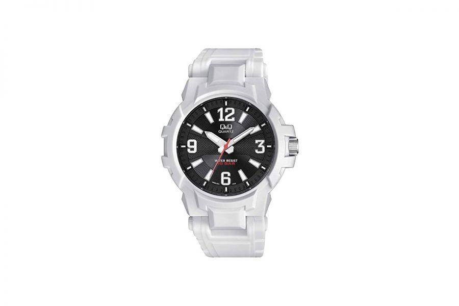 Q&Q Fashion VR62J001Y Horloge Heren 44 mm