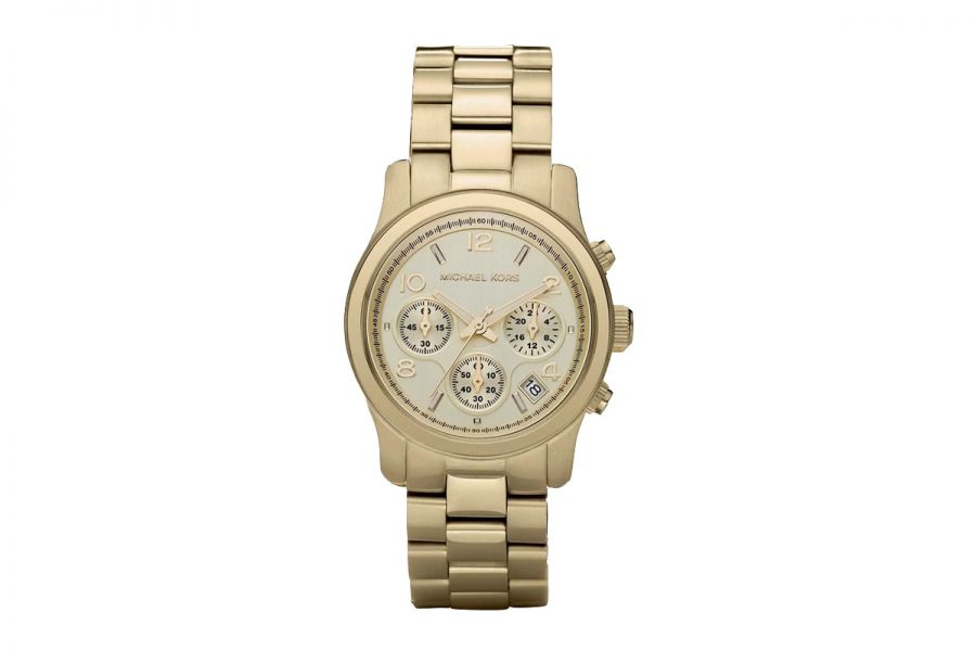 Michael Kors Runway Chronograph Goud 38mm | MK5055