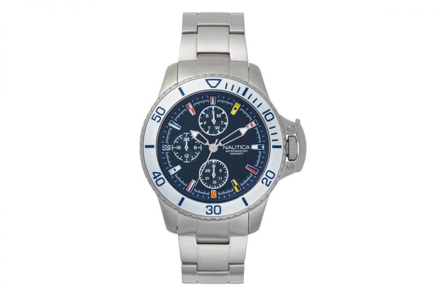 NAUTICA NAPBYS005 Horloge Heren 45mm 10ATM