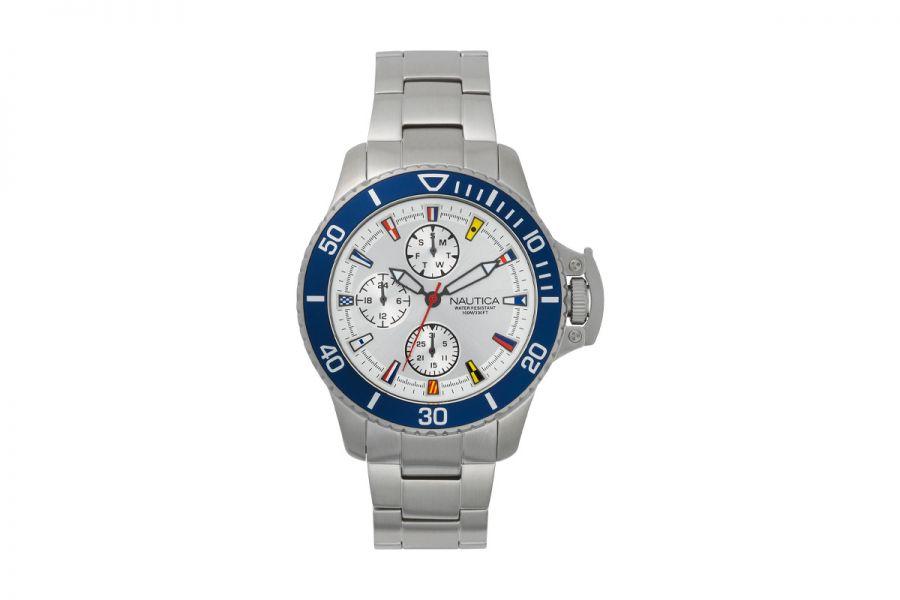 NAUTICA NAPBYS004 Horloge Heren 45mm 10ATM