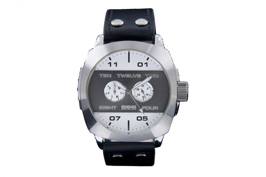 666 Barcelona 666-251 Horloge Heren 47 mm 3 ATM