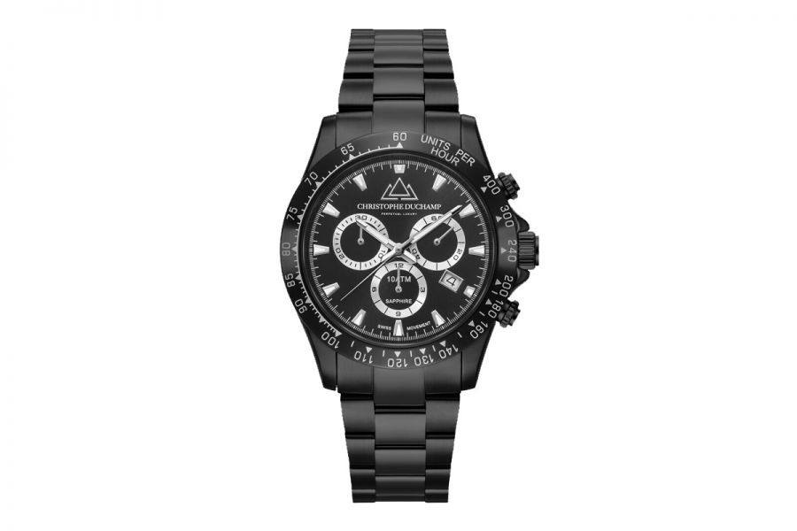Christophe Duchamp Grand Mont Heren Horloge 42mm CD7101-2