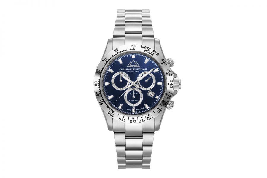 Christophe Duchamp Grand Mont Heren Horloge 42mm CD7101-4