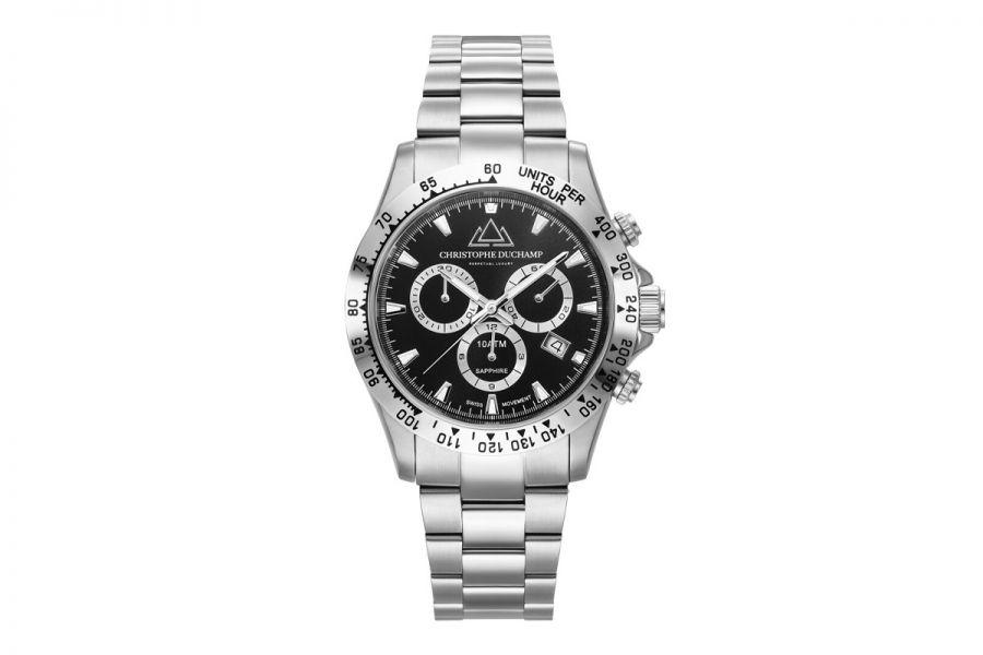 Christophe Duchamp Grand Mont Heren Horloge 42mm CD7101-7
