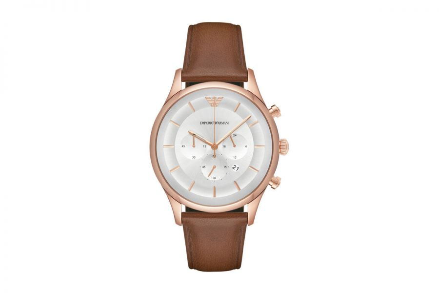 Emporio Armani AR11043 Heren Horloge 43mm 5 ATM