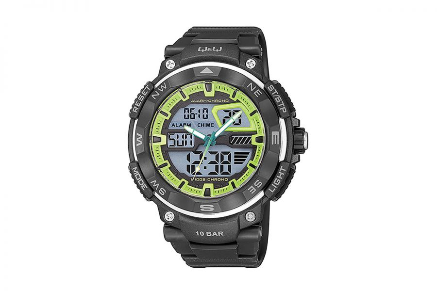 Q&Q Horloge Heren GW85J003Y 53mm 10 ATM