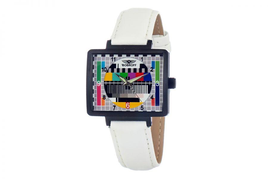 Bobroff BF0032-S013 Dames Horloge 36MM 5ATM