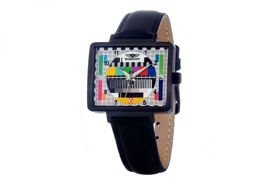 Bobroff BF0032-S014 Dames Horloge 36MM 5ATM