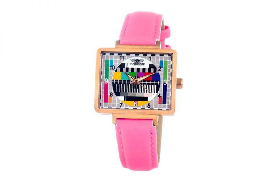 Bobroff BF0035-S012 Dames Horloge 36MM 5ATM