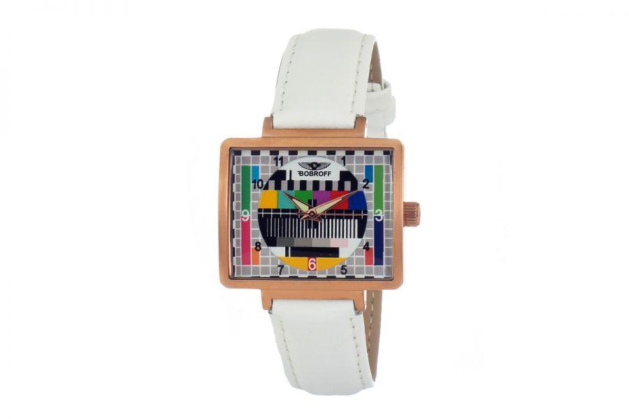 Bobroff BF0035-S013 Dames Horloge 36MM 5ATM