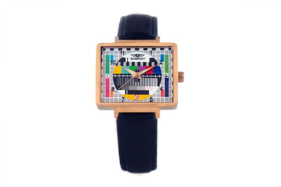 Bobroff BF0035-S014 Dames Horloge 36MM 5ATM