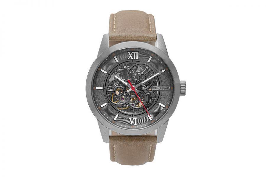 Heritor Jonas Automatic HERHR9504 Heren Horloge 43mm 10 ATM