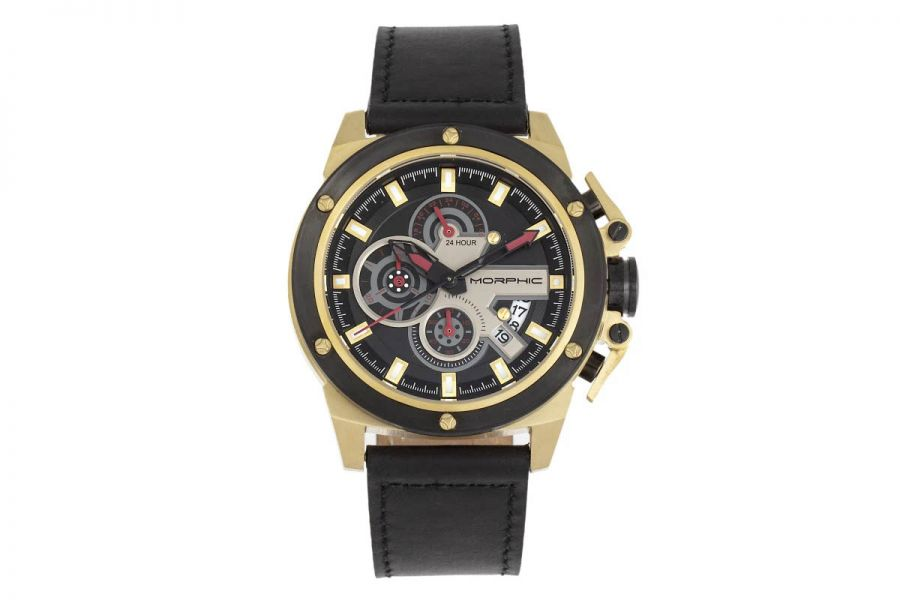 Morphic MPH8103 Chronograph Series Leather