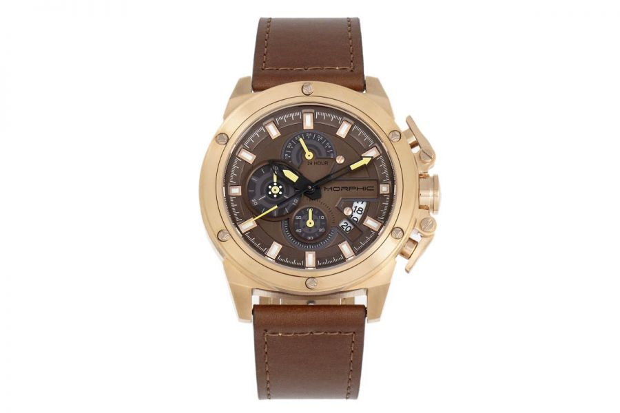 Morphic MPH8104 Chronograph Series Leather