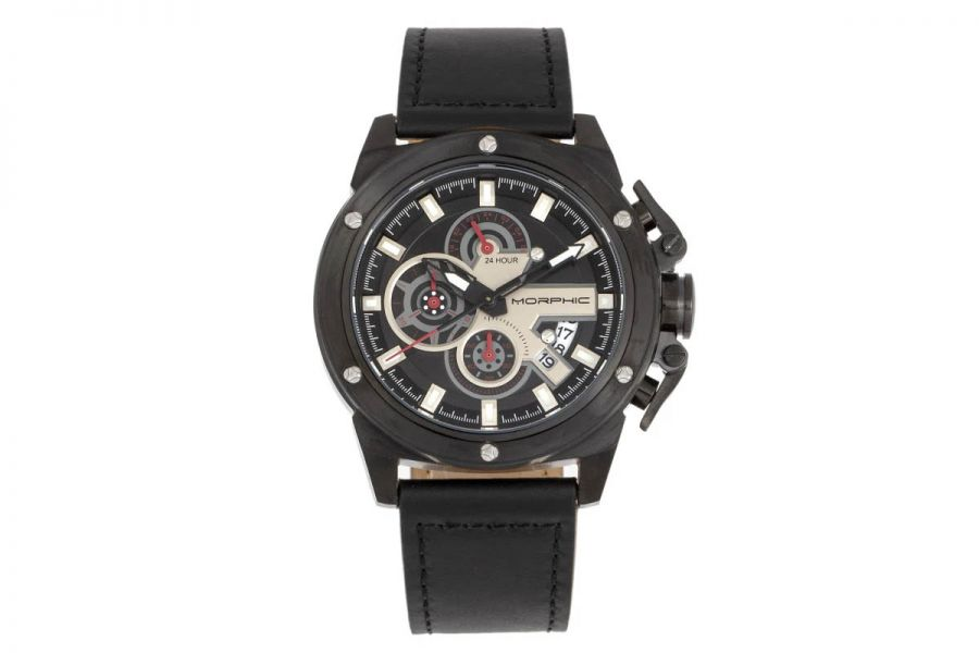 Morphic MPH8105 Chronograph Series Leather