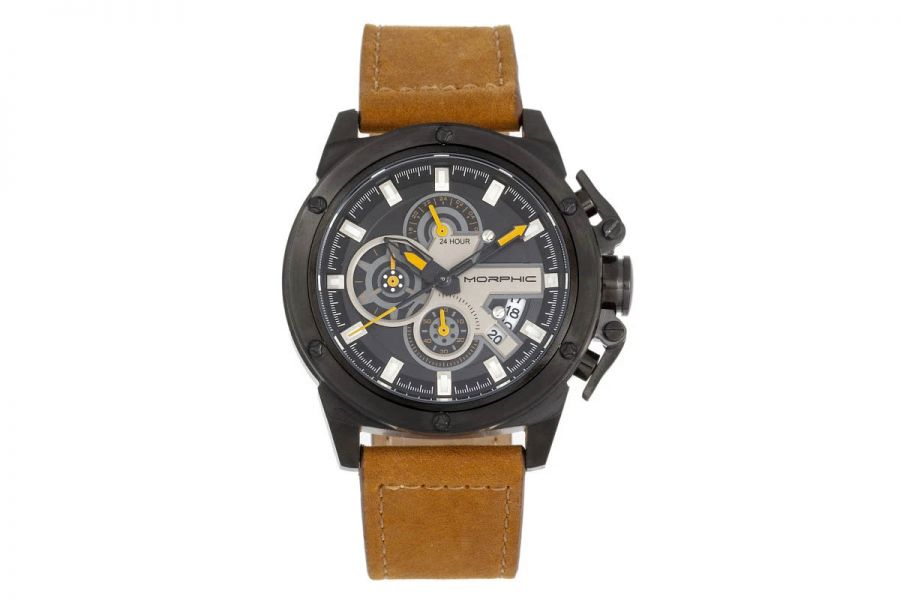 Morphic MPH8106 Chronograph Series Leather