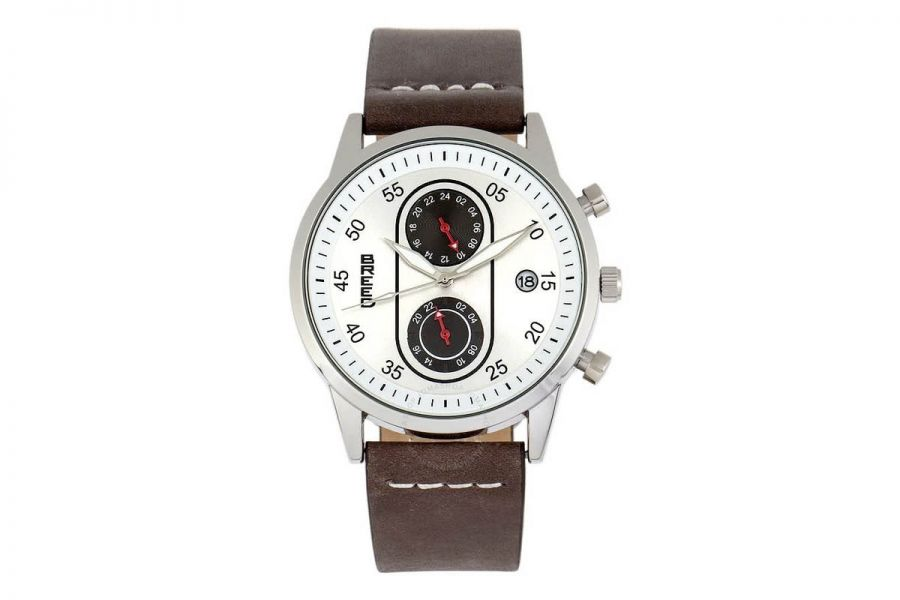 Breed Andreas Multifunction Staal Quartz | BRD8704
