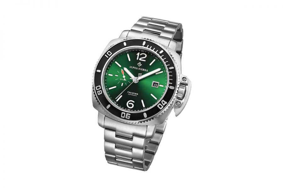 Alpha Sierra Automatic Phantom G002 Heren Horloge 44mm 5 ATM