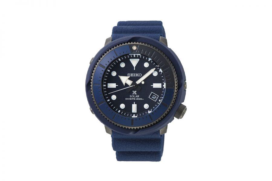 Seiko SNE533P1 TUNA Prospex Heren Horloge Quartz 47MM