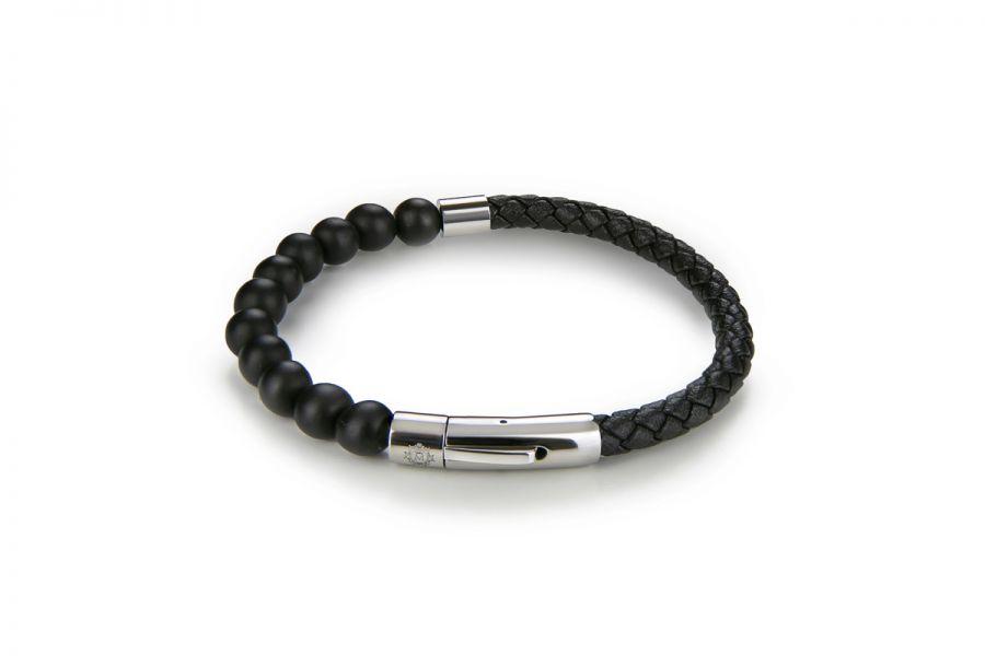Monomen Jewelry MM10837SBB Armband Heren Maat 22.5 cm