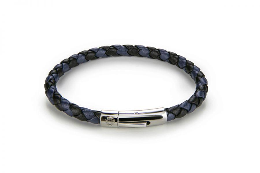 Monomen Jewelry MM10840SBL Armband Heren Maat 22 cm