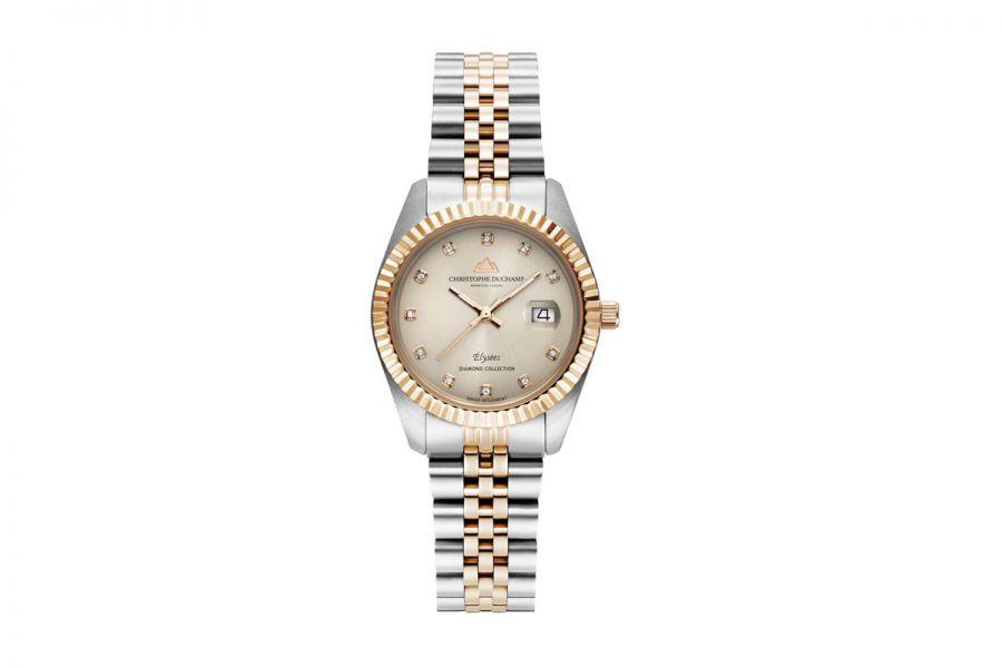 Christophe Duchamp Diamond Elysee dames Horloge 33mm CD7201-1