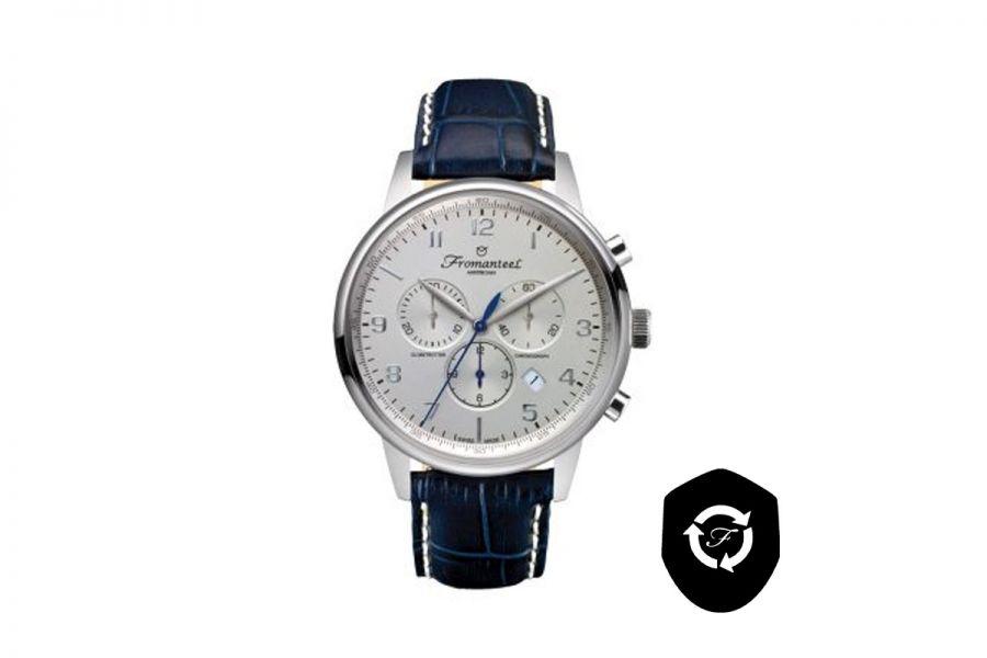 Refurbished Fromanteel Globetrotter Chrono GT-0701-011 Heren Horloge 42mm