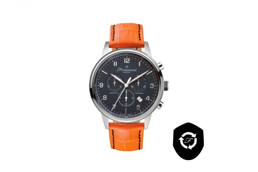 Refurbished Fromanteel Globetrotter Chrono GT-0702-008 Heren Horloge 42mm