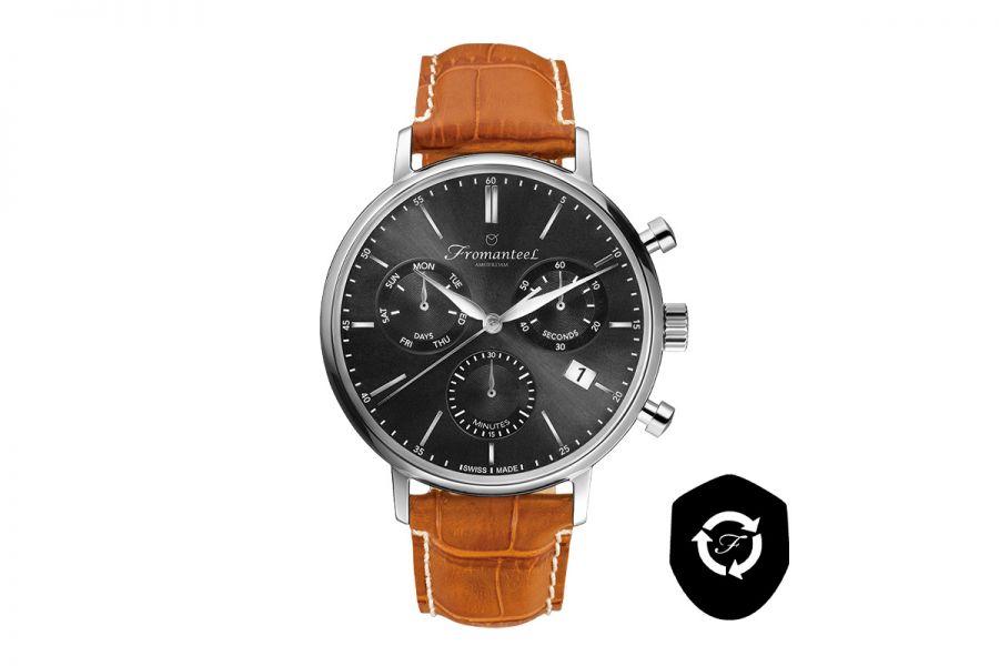 Refurbished Fromanteel Generations Chrono GS-1202-010 Heren Horloge 42mm