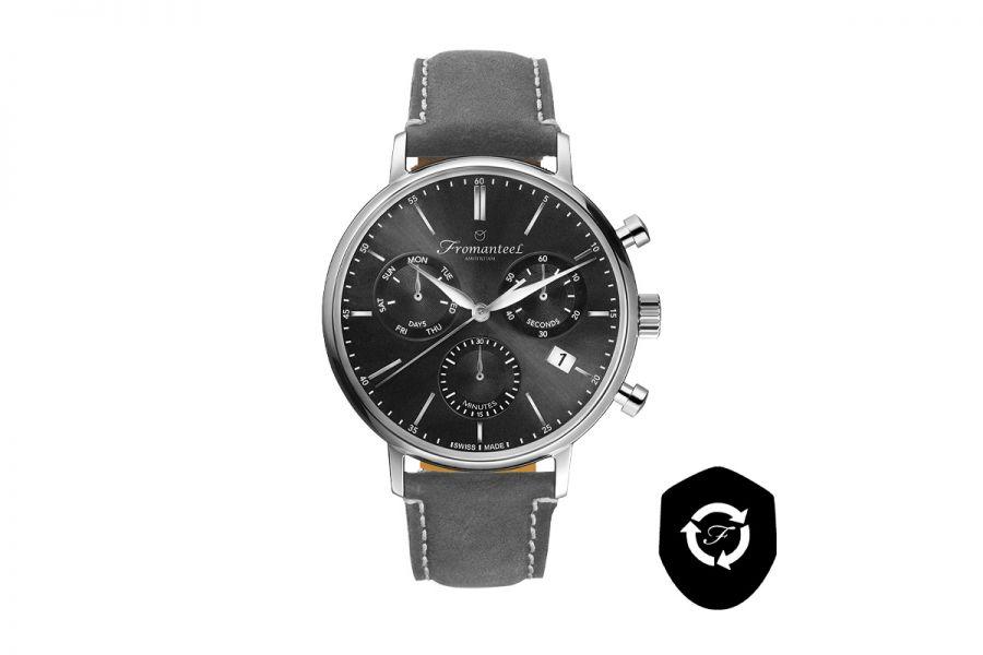 Refurbished Fromanteel Generations Chrono GS-1202-015 Heren Horloge 42mm