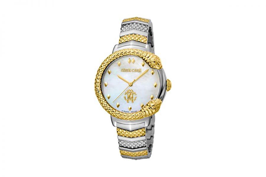 Roberto Cavalli by Franck Muller RV1L113M0081 Ronda 763 Quartz Dames Horloge 34 mm